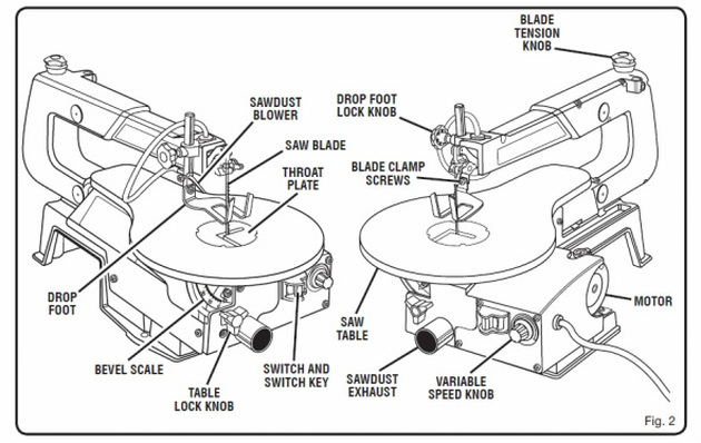dewalt table saw parts picture